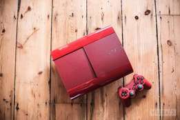 Red Ps3 + Games