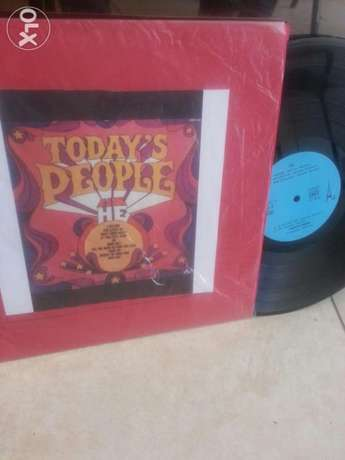 vinyl Todays people best of