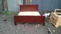 Bed 5by6 hard Wood at a reasonable Price