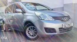 nissan note just arrived Kcp reg loaded edition at 670,000/= ono