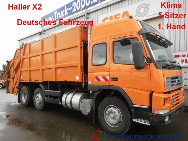 Volvo FM7 HallerX2 5Sitzer*Klima*Retarder*DeutscherLKW - 2002