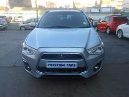 mitsubishi asx 2.0 2014 model silver colour