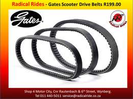 Gates - Scooter Drive Belts
