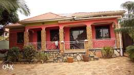 Ntinda 2bedrooms 2bathrooms self-contained house for rent at 450k