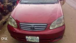 Toyota corolla 2004 model just like toks for fast sell