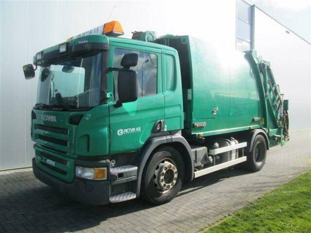 Scania P280 4X2 NTM WINCH EURO 5 - 2009