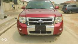 2008 Ford Escape XLT Tokunbo Lovely Wine colour