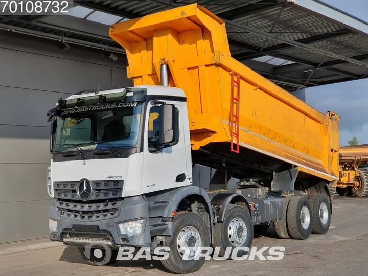 Mercedes-Benz Arocs 4142 K 8X4 Manual 25m3 Big-Axle SteelSuspension Euro 6 - 2017
