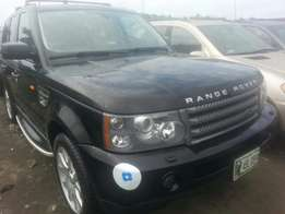 Tincan cleared tokunbo range rover sports 2008