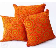 Scatter cushions in ethnic design
