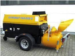 Pump estromat 260 ds5-3 estrichmaschine betone etriche stationary - 2019