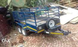 double axale trailer