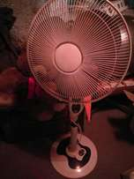 Salton fan with remote for sale.