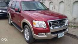 Registered Ford Explorer 2007model