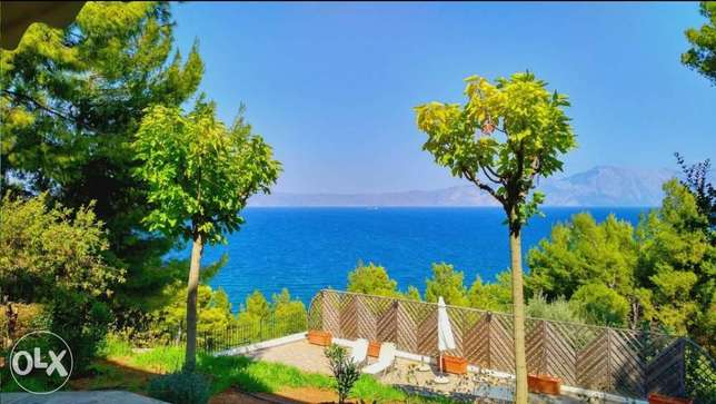 Luxury villa in Osmaes Theolo,Greece 310m2 ,sea view in a 1065m2 land