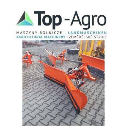 Top-Agro Vario Snow Plough Economic 1,5m / Chasse Neige - 2018