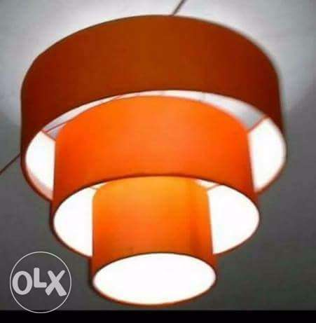 Lampshades 500/-.made from fabric cloth for interior decoration Nairobi CBD - image 1