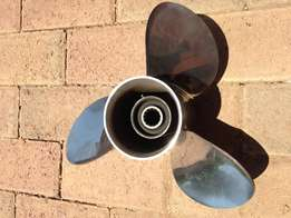 Solas 15 pitch stainless steel prop for sale