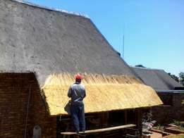 Thatch roofs, repair,