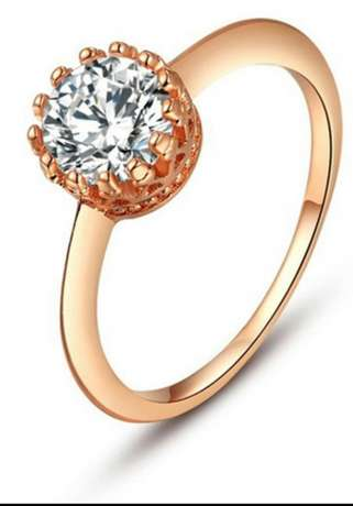 ROXI Top Quality 18K Rose Gold Plated Ring Kasarani - image 5