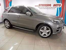 2014 mercedes-benz m-class ml 250 bluetec amg package