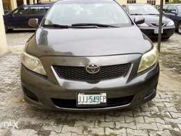 Toyota corolla 2009 first body