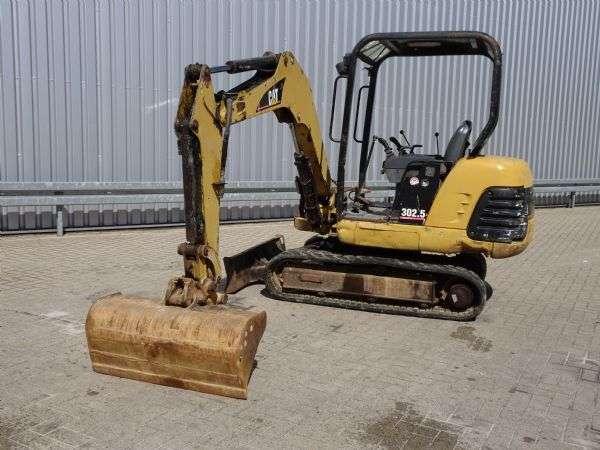 Caterpillar 302.5 Minigraver, Minibagger, Mini excavator incl 3 bakke... - 2005 - image 4
