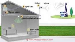 GSM and CDMA Mobile phone signal booster, amplifier, cellular repeater