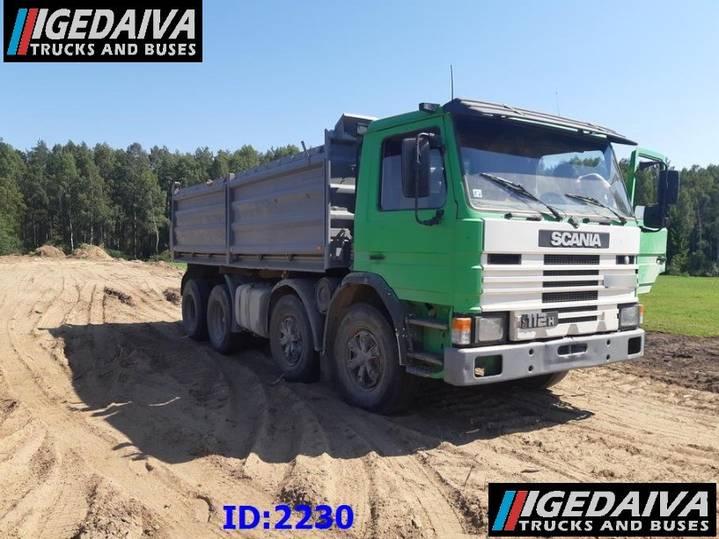 Scania 112 8X4 TIPPER - 1985