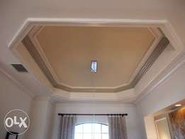 Shaped pop ceiling designs