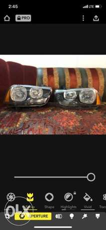 Dodge Charger 2014 Head Lamps