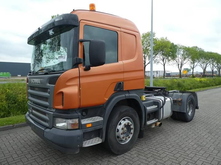 Scania R380 manual gearbox,steel - 2006