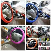 Silicon steering wheel covers