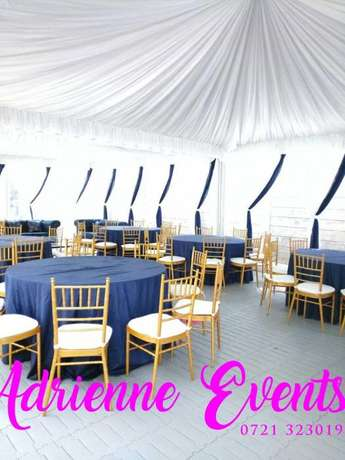 Hexagon tent, Foldable Chairs, Chiavari and Decor Services Westlands - image 8