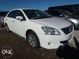 Toyota Premio Year 2010 Model Automatic transmission 2WD White Color