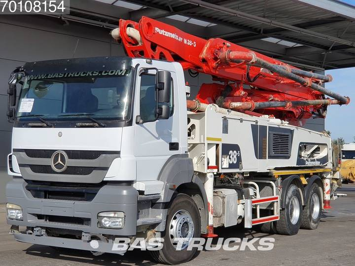 Mercedes-Benz Axor 3340 K 6X4 Manual Big-Axle Putzmeister M38-5 Euro 5 - 2015