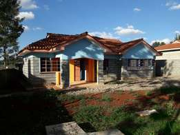 Tenasol property agency. A3 bedroom bungalow+ 4 sale in ngong matasia.