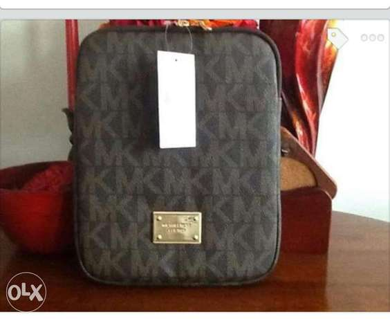 Micheal Kors Monogrammed Ipad leather case