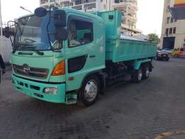 Hino Tipper 2009 6 Speed Manual Transmission 7680Cc Diesel Engine 20