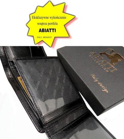 787d99ec170fe EKSKLUZYWNY skórzany portfel męski ABIATTI -50% ! Piekary Śląskie - image 7