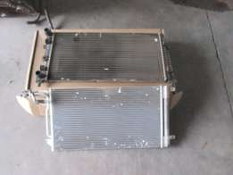 VW Polo radiator and aircon radiator