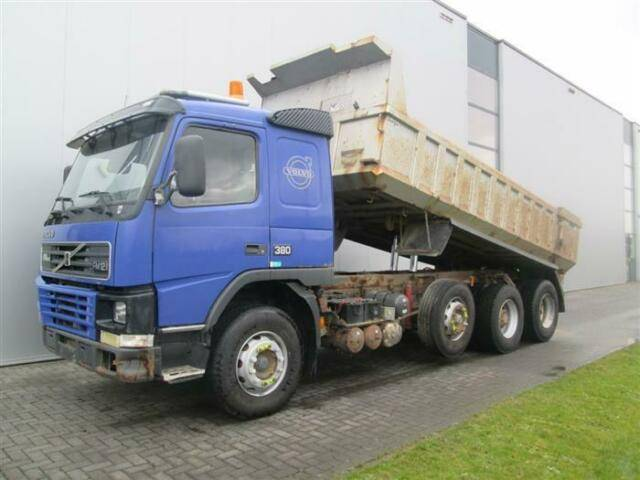 Volvo FM12.380 8X2 MANUAL FULL STEEL HUB REDUCTION - 2000