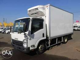 Isuzu ELF Year 2010 Model Manual Transmission Diesel 2WD Box Body