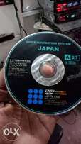 Toyota map disk & sd cards unlock & activate your japannese radio.