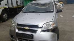 2013 Chevrolet Aveo 1.6L Stripping for spares