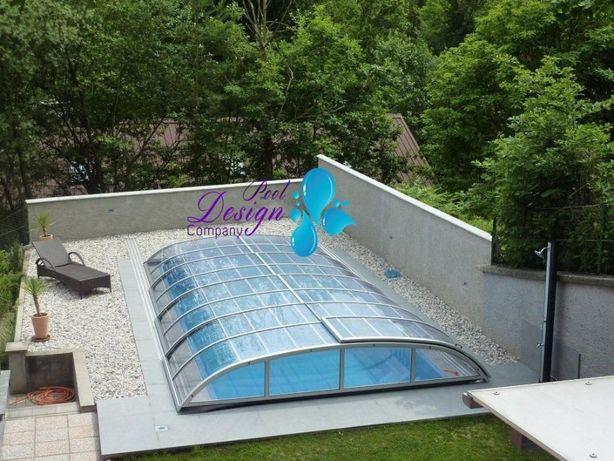 Nowoczesna architektura Zadaszenie basenowe z poliwęglanu Antoniówka • OLX.pl OD97