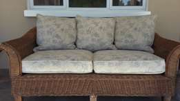 Wicker Couch 2 seater