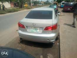 Fairly used 2007 model is250 Lexus car in an excellent condition.