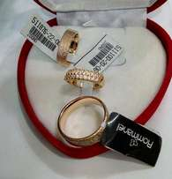 Exotic Brand New Romania Gold Engagement/Wedding Ring 01- In All Sizes