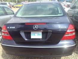 Direct Tokunbo Mercedez Benz E350 for Sale